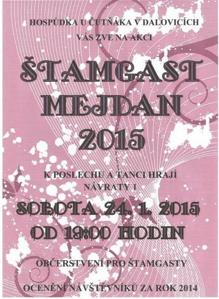 Štamgast mejdan 2015