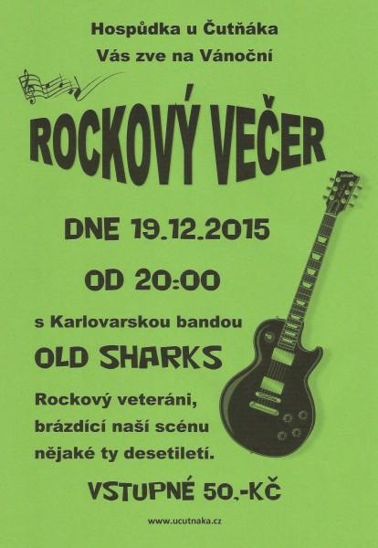 Vánoční rockový večer 2015